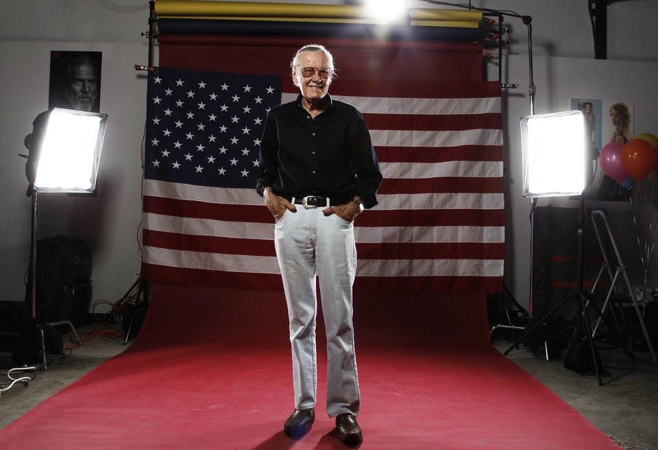 Stan Lee en la Comic-Con 2011