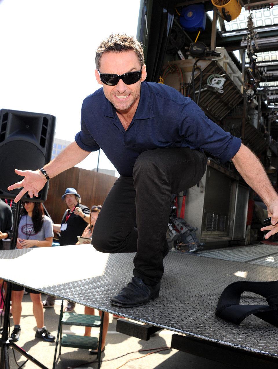 Hugh Jackman en la Comic-Con 2011