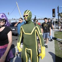 Cosplay de Kick-Ass y Hit Girl en la Comic-Con 2011