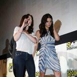 Kristen Stewart y Ashley Greene en la Comic-Con 2011