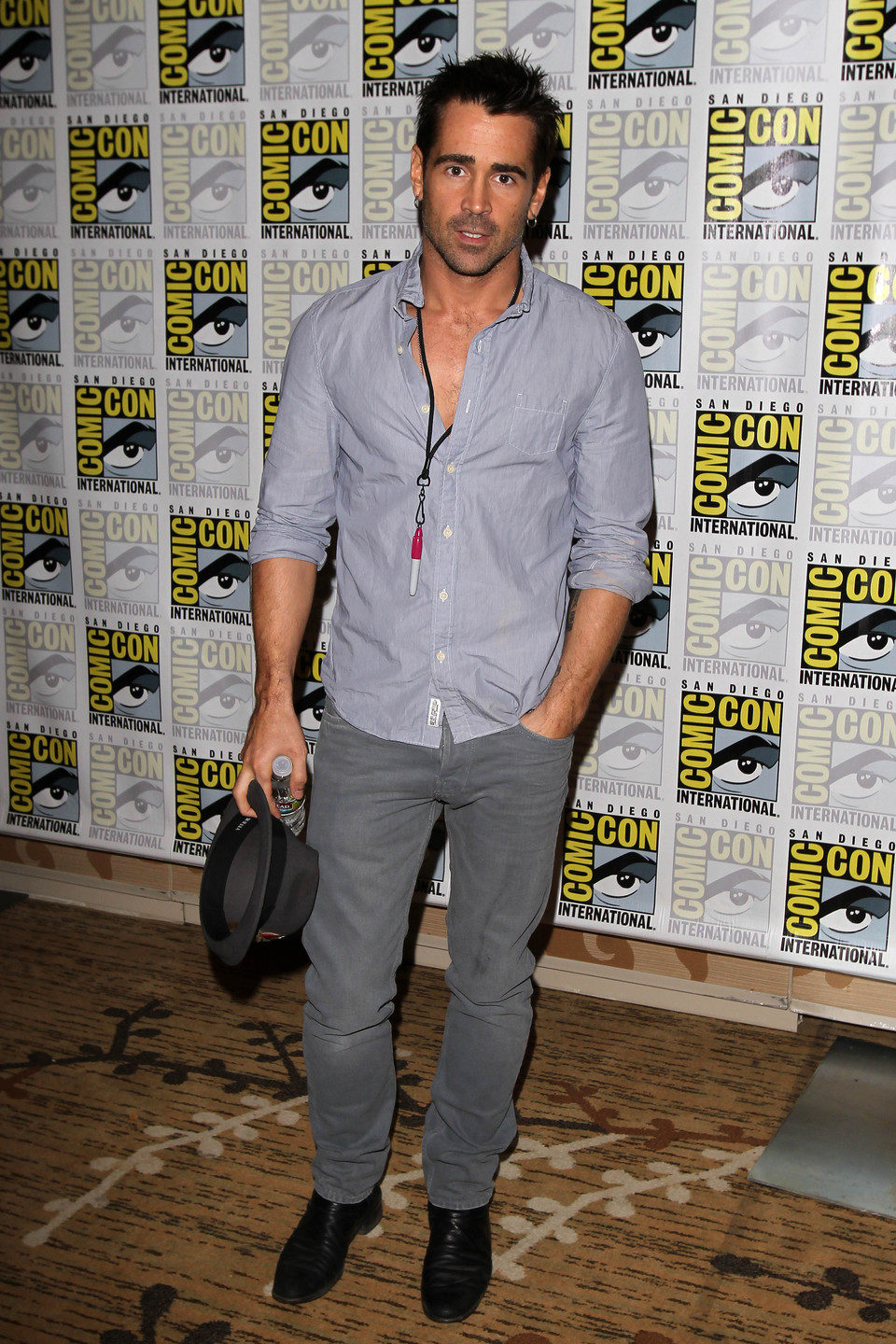 Colin Farrel en la Comic-Con 2011