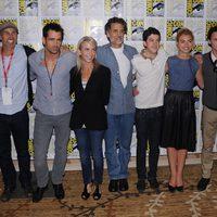 El equipo de 'Noche de miedo' en la Comic-Con 2011