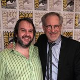 Steven Spielberg y Peter Jackson en la Comic-Con 2011