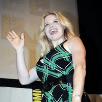 Megan Hilty en la Comic-Con 2011