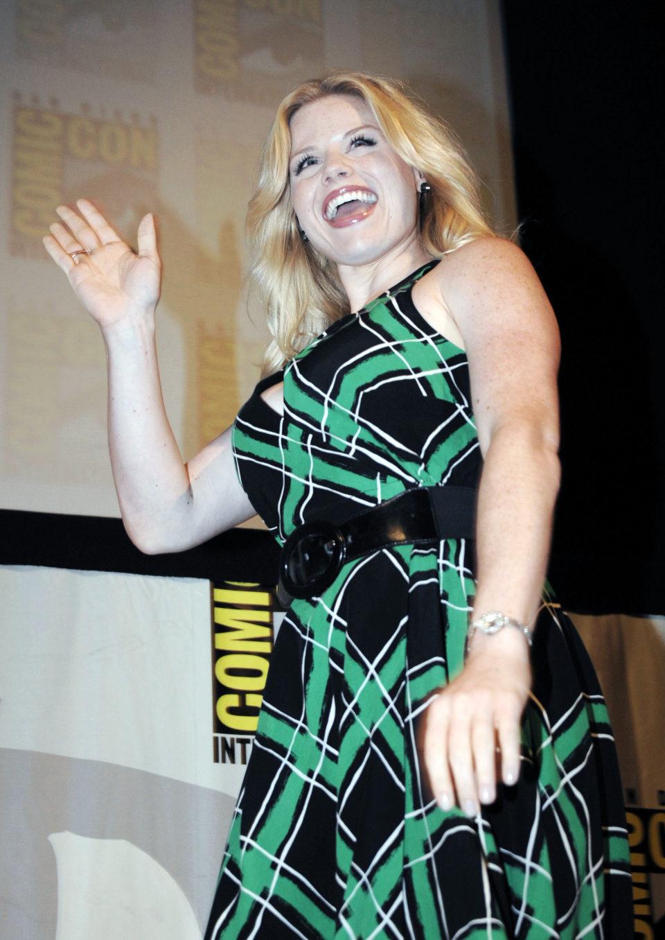 Megan Hilty en la Comic-Con 2011