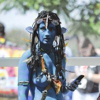 Cosplay de Neytiri de 'Avatar' en la Comic-Con 2011