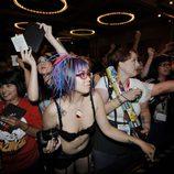 Fans enloquecidas en la Comic-Con 2011