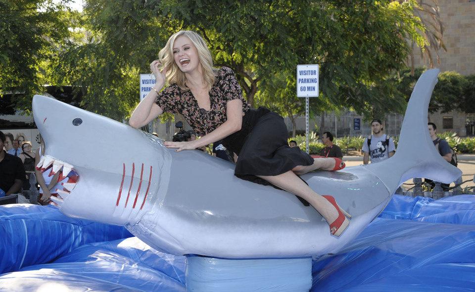 Sarah Paxton presenta 'Shark Night 3D' en la Comic-Con 2011