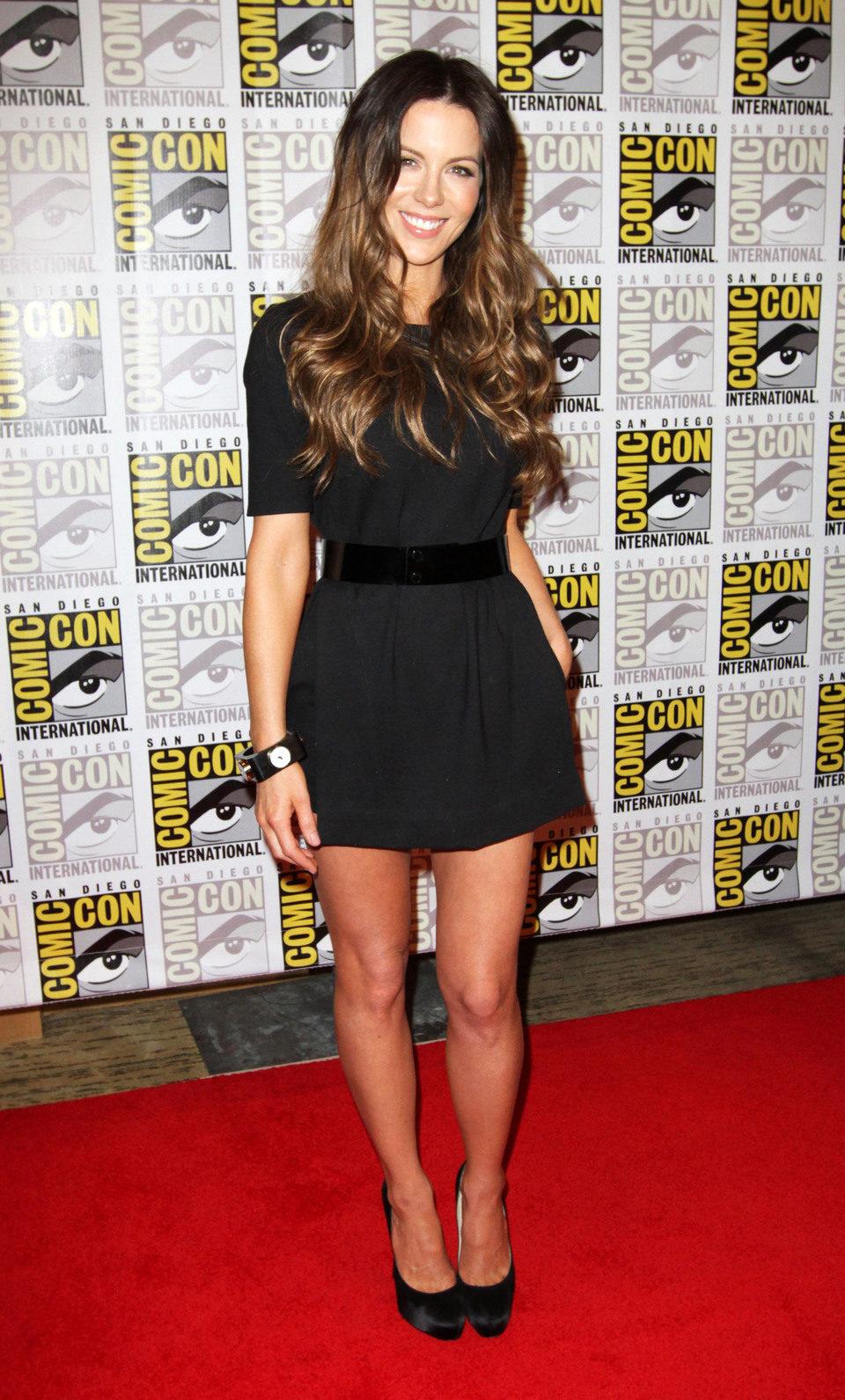Kate Beckinsale en la Comic-Con 2011