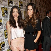 Kate Beckinsale y Jessica Biel en la Comic-Con 2011