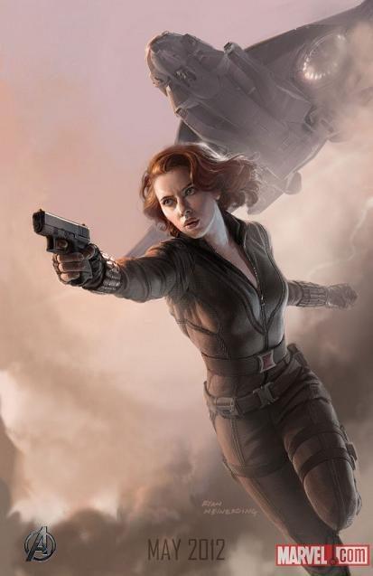 Scarlett Johansson es Viuda Negra en 'Los Vengadores'