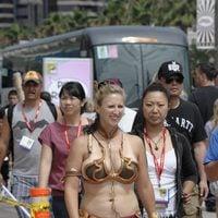 La princesa Leia en la Comic-Con 2011