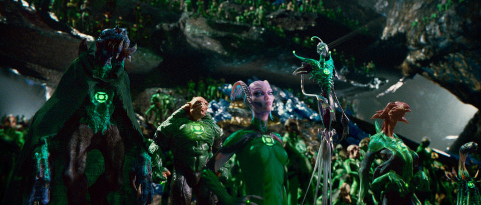 Green Lantern (Linterna Verde), fotograma 47 de 75