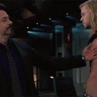 Iron Man y Thor, juntos en 'Los Vengadores'