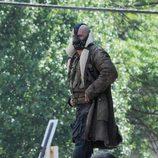 Bane se fuga de la cárcel en 'The Dark Knight rises'