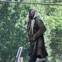 Bane se fuga de la cárcel en 'The Dark Knight rises'