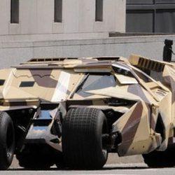 El Batmóvil militar de 'The Dark Knight rises'