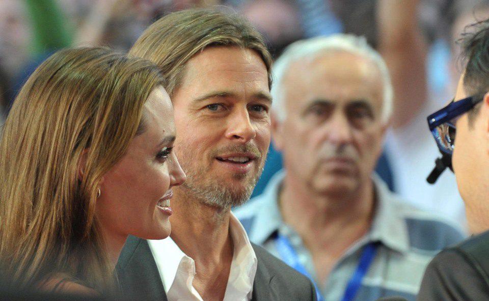 Angelina Jolie y Brad Pitt en el Festival de Cine de Sarajevo