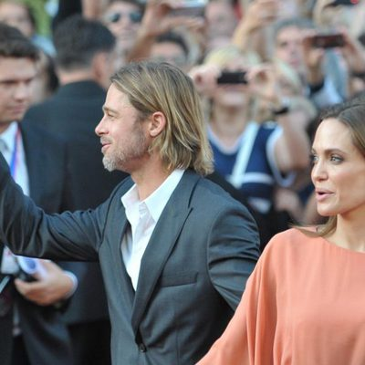 Brad Pitt y Angelina Jolie visitan Sarajevo