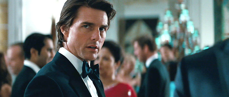 Tom Cruise, de gala en 'Misión Imposible: Protocolo fantasma'