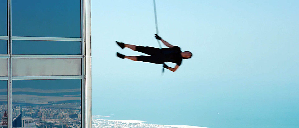 Tom Cruise arriesga su vida en 'Misión Imposible: Protocolo fantasma'