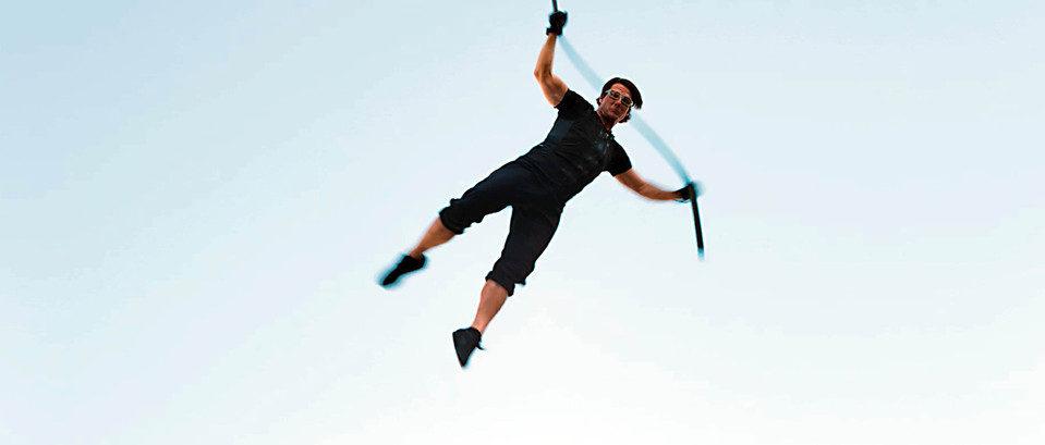 Tom Cruise salta al vacío en 'Misión Imposible: Protocolo fantasma'