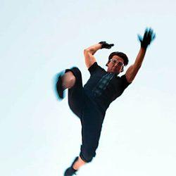 Ethan Hunt intenta volar en 'Misión Imposible: Protocolo fantasma'