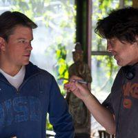 Matt Damon y Cameron Crow rodando 'We bought a zoo'