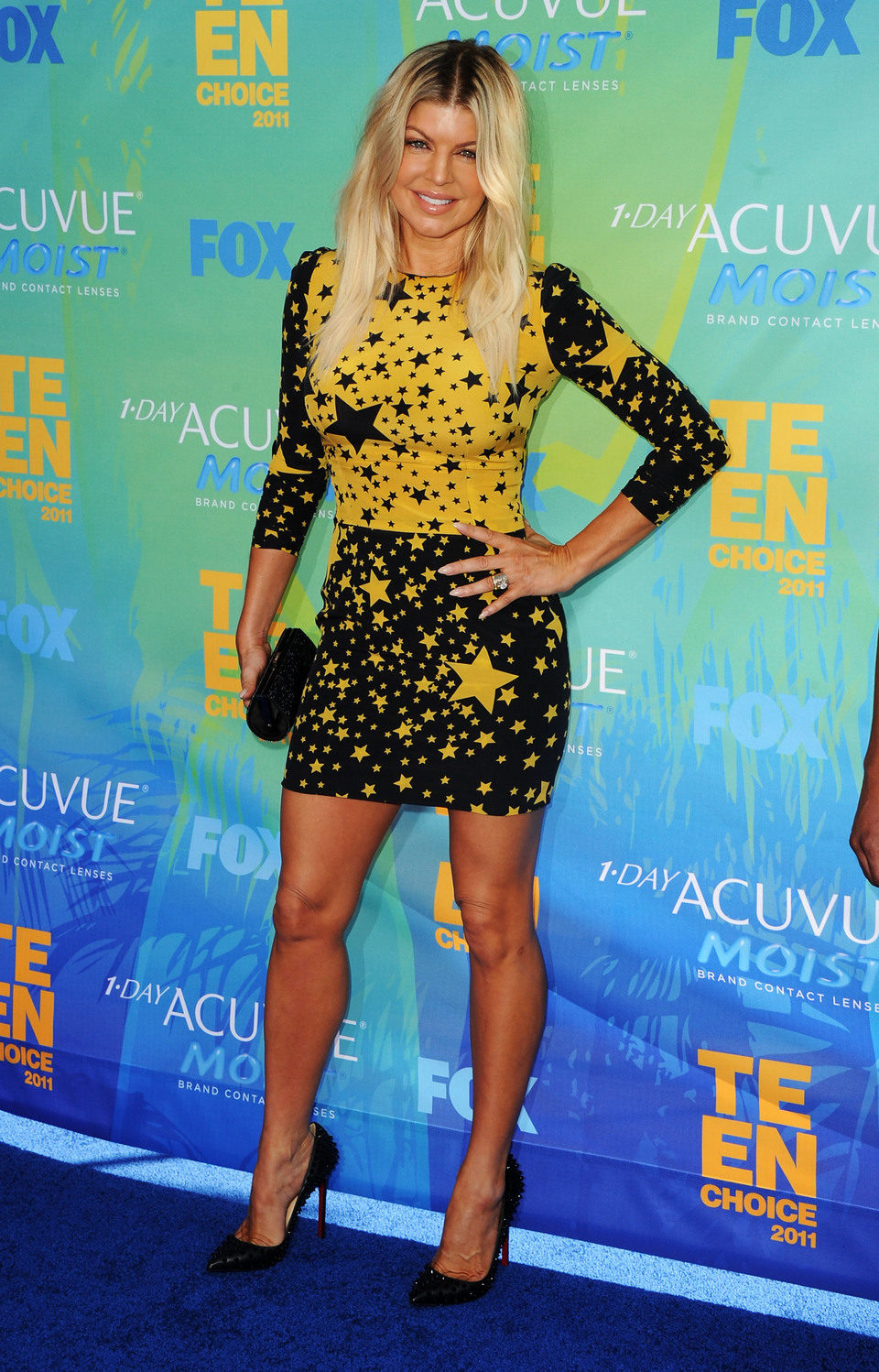 Fergie en el photocall de los Teen Choice Awards 2011