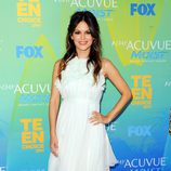 Rachel Bilson posa en los Teen Choice Awards 2011