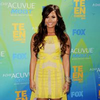 Demi Lovato en la alfombra de los Teen Choice Awards 2011