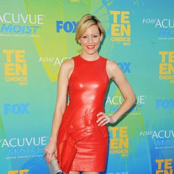 Elizabeth Banks en el photocall de los Teen Choice Awards 2011