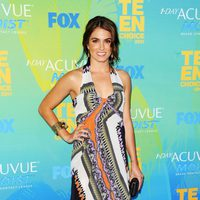 Nikki Reed en el photocall de los Teen Choice Awards 2011