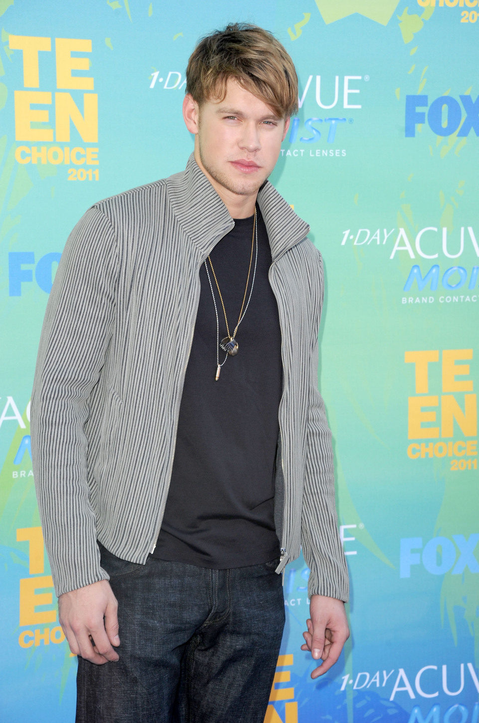 Chord Overstreet en el photocall de los Teen Choice Awards 2011