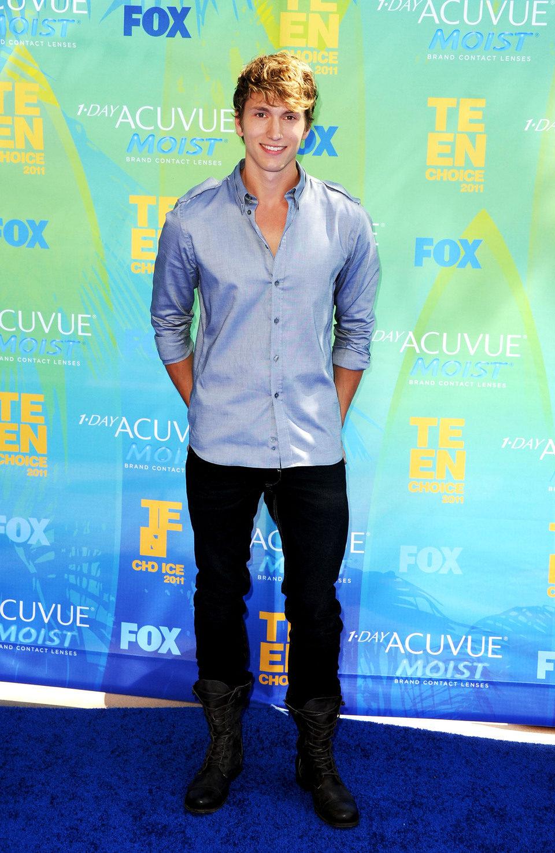 Benjamin Stone en el photocall de los Teen Choice Awards 2011