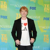 Rupert Grint en el photocall de los Teen Choice Awards 2011