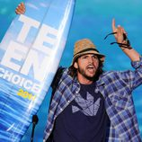 Ashton Kutcher celebra su Teen Choice Award