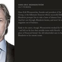 Ulf Friberg en 'Los hombres que no amaban a las mujeres'