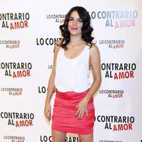 Adriana Ugarte en el photocall de 'Lo contrario al amor'