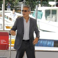 George Clooney presenta en el Festival de Venecia 'The Ides of March'
