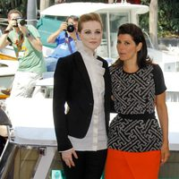 Evan Rachel Wood y Marisa Tomei presentan en el Festival de Venecia 'The Ides of March'