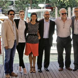 El equipo de 'The Ides of March' en el Festival de Venecia
