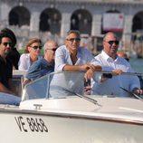 George Clooney desembarca en el Festival de Venecia