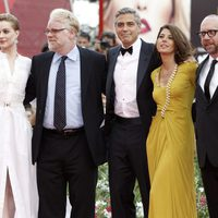 El equipo de 'The Ides of March' ante la prensa