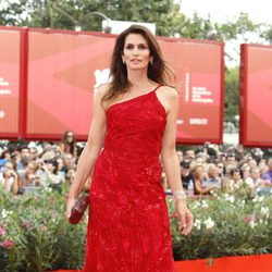 Cindy Crawford en el pase de 'The Ides of March'