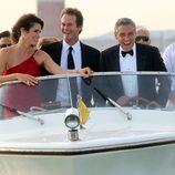 George Clooney, patrón de barco en Venecia