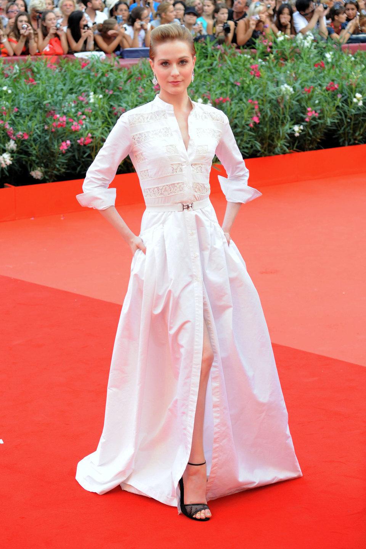 Evan Rachel Wood en el Festival de Venecia