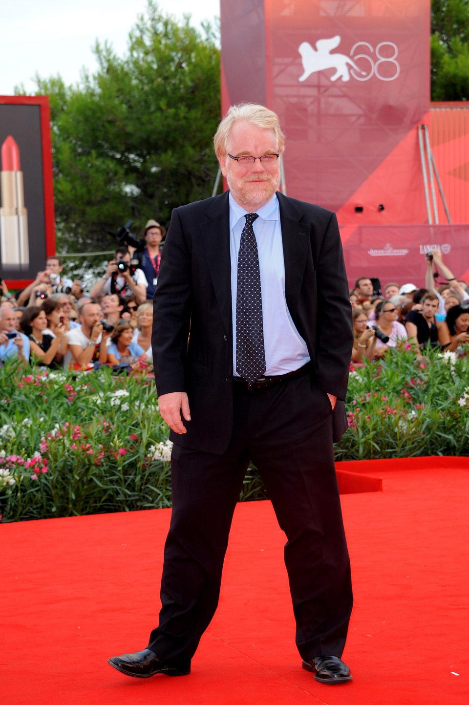 Philip Seymour Hoffman en el Festival de Venecia