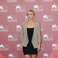 Kate Winslet, protagonista de 'Un dios salvaje', en el Festival de Venecia