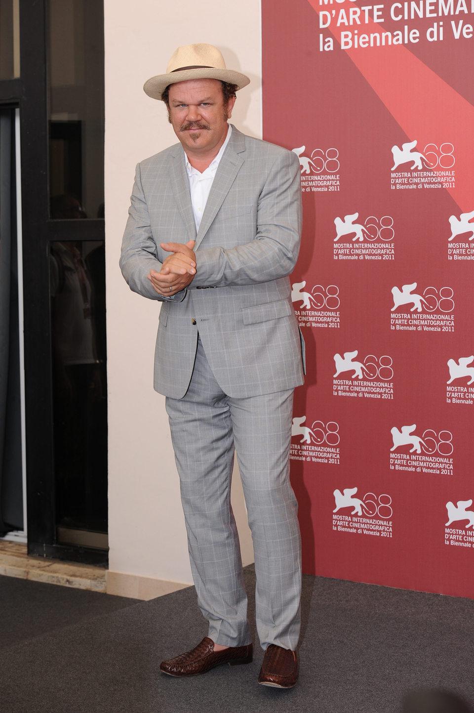 John C. Reilly en el Festival de Venecia